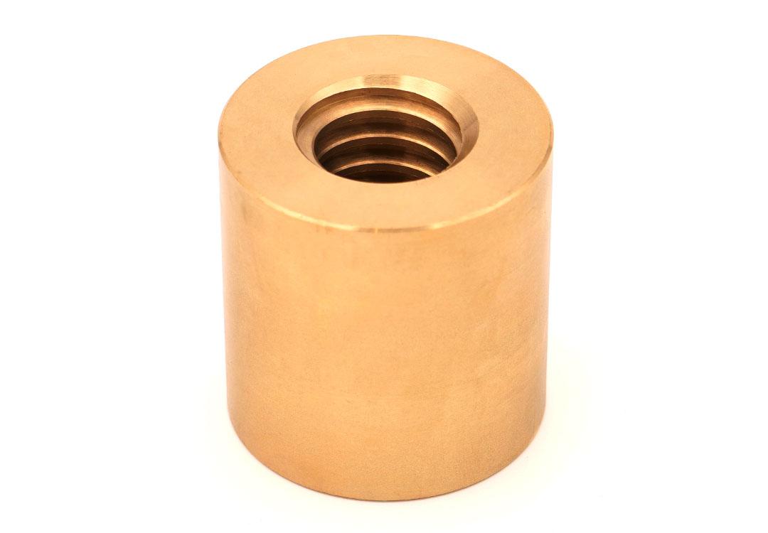 ecrou-trapezoidal-cylindrique-bronze